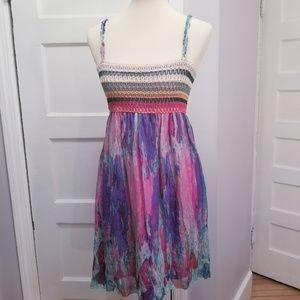 Custo Barcelona Silk Dress, Size 2